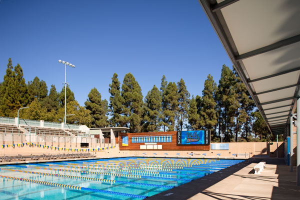 Pool Bauer ucla spieker aquatic center bauer architects