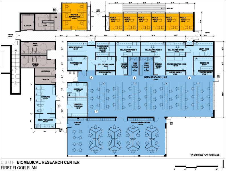 Csuf Bio Behavioral Research Complex Bauer Architects