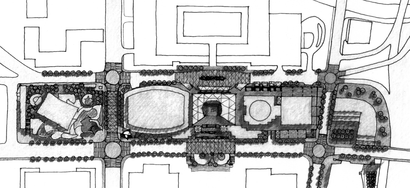 music center of los angeles site plan